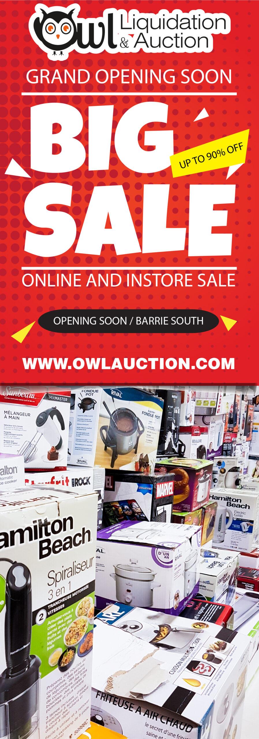 Owl Liquidation - CGArt Web Design Toronto