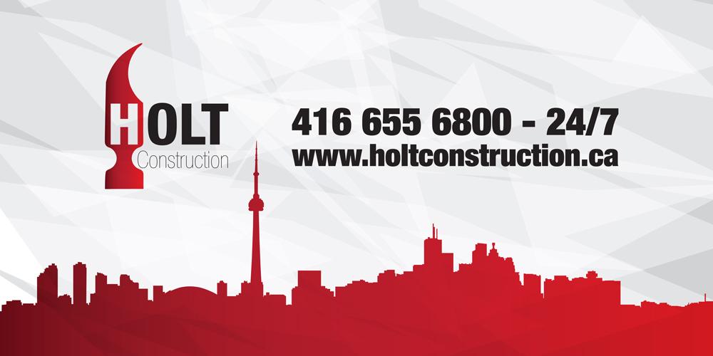Holt Construction CGArt Web design Toronto